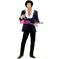 Nina Hagen green goddess towel