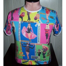 Stevie Nicks white winged magnet
