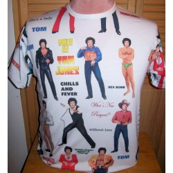 Tom Jones Blue Jeans magnet