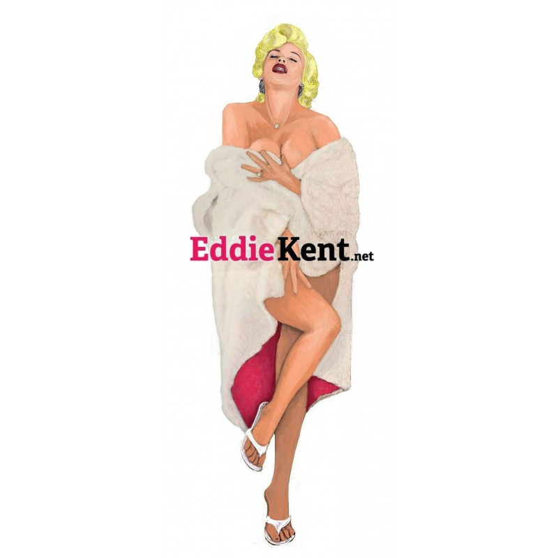 Tom Jones Sheep fur jacket magnet