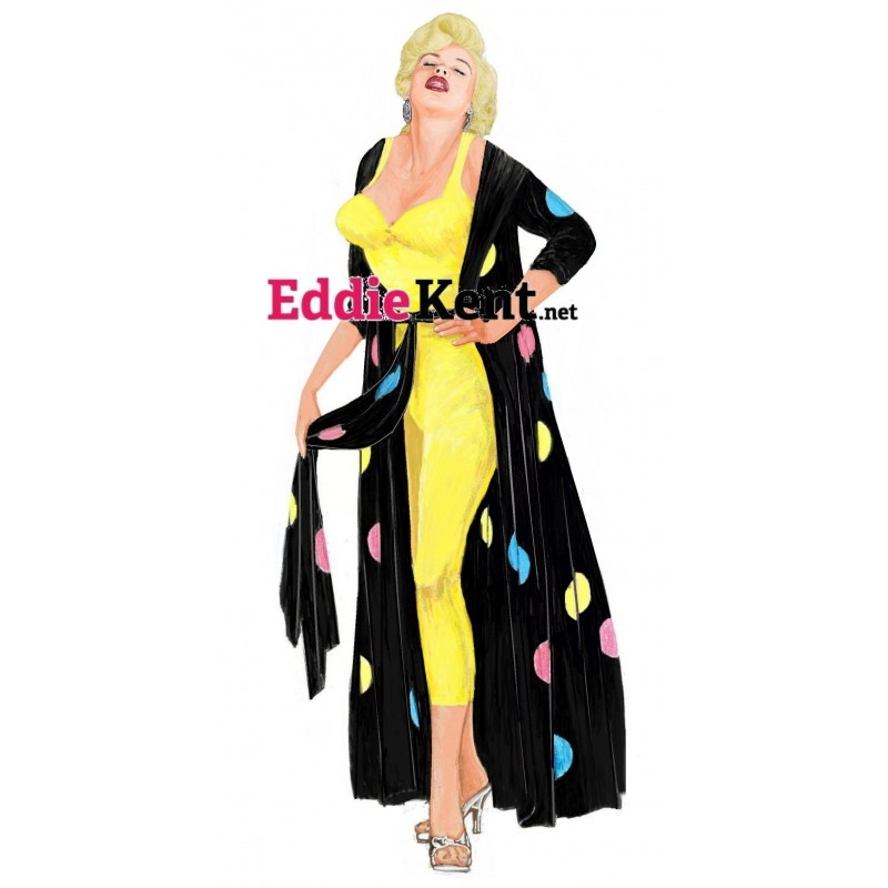 Tom Jones Green Bikini magnet